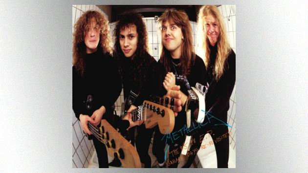 Metallica reissuing 1987's