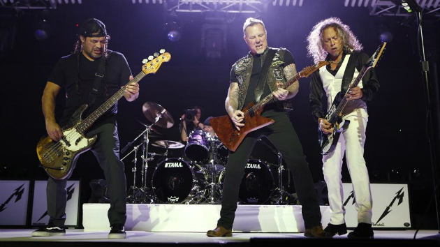 Metallica auctioning signed merch and experiences for charity