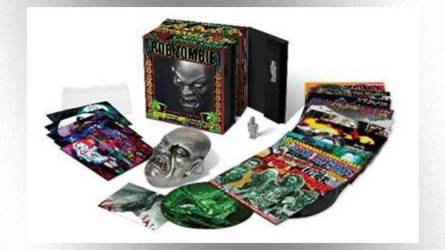 Rob Zombie releasing 15-LP vinyl box set