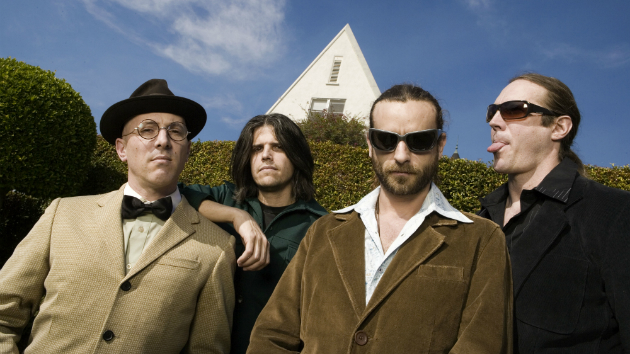 Tool members holding behind-the-scenes