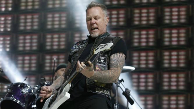 Watch Metallica's James Hetfield play the riff from Ghost's